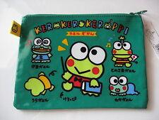 Sanrio Keroppi Vinyl Bag Character Zipper Closure Vintage 1998/1994