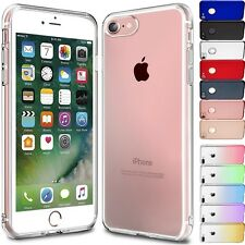 IPHONE 7 / 7 PLUS APPLE 6 6S  / SE HOUSSE ETUI COQUE SILICONE TPU + 1 FILM