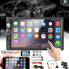 """Car 7"""" inch Touch Screen Radio Audio Stereo MP5 Player USB SD Support+ Camera UK"""