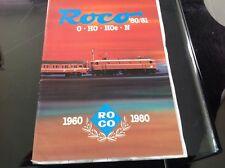 ROCO : CATALOGUE 1980 / 1981