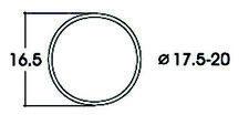 ROCO 40077 haftrings.10stk.17, 5-20mm