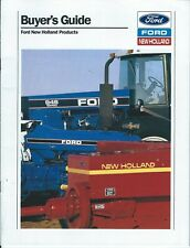 Farm Equipment Brochure - Ford New Holland - Buyer's Guide Product Line (F7248)