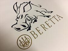Beretta gun hunting vinyl sticker decal