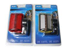 multifunción 5 LED Trasero Rojo y Frente Blanco Luz Bicicleta - 7 FUNCIONES