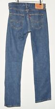 "Excelente Hombres Jeans Azul Descolorido Xx Levi Strauss & Co 501 W 32"" L32"""