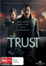 The Trust (DVD, 2016) N Cage E Wood S Ferreira J Lewis 88 mins LIKE NEW