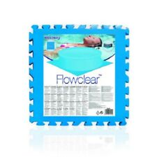 BESTWAY 58220 Tappeto componibile sottofondo protezione piscina 8 pezzi 50x50