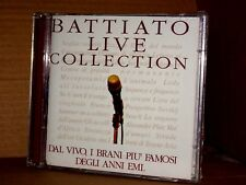 Franco Battiato - Live Collection 2 CD EMI