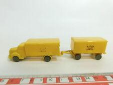 AO315-0,5# Wiking H0 (1:87) Modell Postwagen/MB-LKW mit Anhänger, unverglast