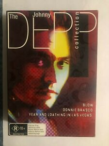 The Johnny Depp Collection - Blow- Donnie Brasco - Fear & Loathing - DVD