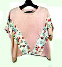 The Emporium JP brand Floral Pink Dolman top