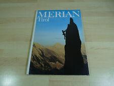 Zeitschrift Reisemagazin MERIAN - Tirol / Heft