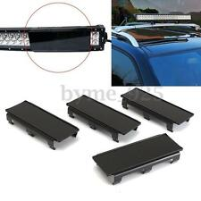 """4x 8"""" Inch Black Curved Straight LED Light Bar Len Cover for Truck Offroad 32''"""