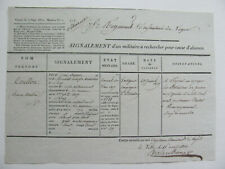 More details for document relating to french soldier missing in spain 1811 peninsula napoleonic