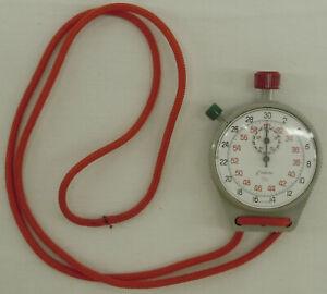 Vintage Endura 1/10 Stop Watch StopWatch Swiss Made 4007