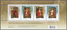 Canada Stamps - Souvenir sheet - 2010, Four Indian Kings #2383b - MNH