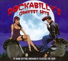 VARIOUS ARTISTS - ROCKABILLY'S GRAVEST HITS: 75 HARD HITTING CLASSICS NEW CD
