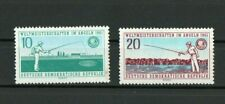 [D074] Germany-DDR  21/7/1961 World Championship Sports Fishing MNH set.
