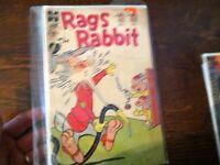 x-53 old  comic book  harvey rags rabbit  pesty jesty