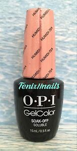 OPI GelColor NEW ORLEANS #1 GC N52 HUMIDI-TEA nude shimmer gel color polish AUTH