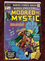 Marvel Chillers Modred the Mystic #1(1st app Chthon & Modred the Mystic) Key!