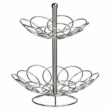 8 Cup Mug Tree Stand Holder Hanging Cup Kitchen Drainer Storage Rack in Chrome