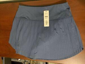 Lucky in Love Hi Brid Pleated Ladies Medium BlueGolf Tennis Skort NWT NEW Gb73