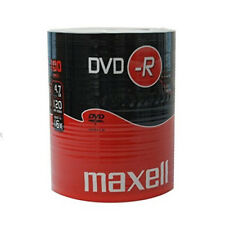 100 Maxell Dvd-r 4 7 GB 16x Speed In Shrink