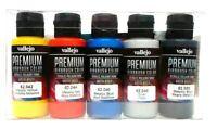 AV Vallejo Premium Airbrush Metallic Colours Acrylic Paint Set For Models & RC