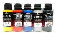 AV Vallejo Premium Airbrush Metallic Farben Acrylfarbe Set Für Modelle & RC