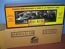 MTH  RK - Club car 2001. Flat car w/51 panel vans New in box, never out. C-10 sb