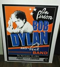 UNUSUAL BOB DYLAN IN PERSON AND HIS BAND IN FIRST UNION CENTER POSTER