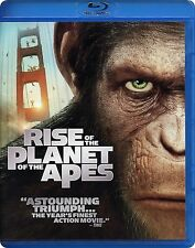 Rise of the Planet of the Apes Blu-Ray Dvd Bluray Movie Like New
