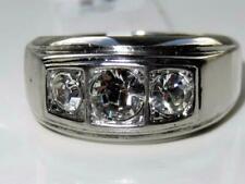 Cubic Zirconia Stone Rings for Men
