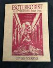 RARE SIGNED Genesis P-Orridge ESOTERRORIST Selected Essays 1980-1988 2nd Edition