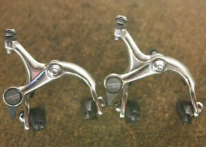Vintage Shimano 105 / BR-1050 silver brakes brake calipers caliper set