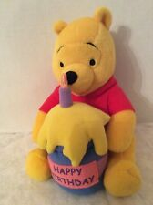 Disney Applause Winnie the Pooh Happy Birthday Plush