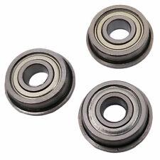 New Listing10 Pcs Mf105zz Mini Metal Double Shielded Flanged Ball Bearings 5mm10mm4mm