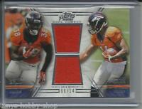 2014 Topps Prime Montee Ball/Cody Latimer Worn Used Jersey/Uniform Broncos /142