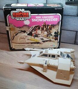 Vintage Star Wars Palitoy Rebel Armoured Snowspeeder & Pink box