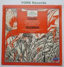 411 024-1 - PROKOFIEV / SHOSTAKOVICH - Symphonies WELLER - Ex Con LP Record