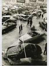 30x23cm Foto 2016 Motiv 1963 Citroen DS Cabrio Aston Martin Fiat Abarth photo