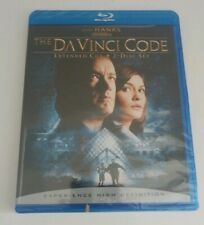 The Da Vinci Code 2006 Tom Hanks 2 Disc Extended Cut Blu-Ray New