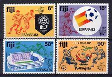 FIJI = 1982 World Cup Football Championships in Spain, SG 636/639. MNH.