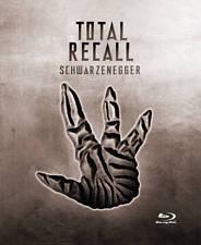 New! Total Recall Blu-Ray Steelbook + Digital HD - Schwartzenegger Mars Stone