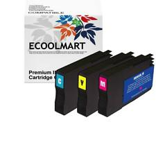 3 Ink Cartridges fit HP 951XL Combo Pack Officejet Pro 8600 8100 251 276