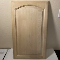 21H x 8W Unfinished Oak Square Flat Panel Cabinet Door by Kendor