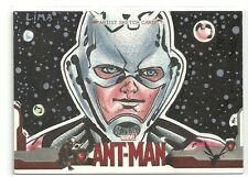 Upper Deck Marvel Ant-Man Hand Drawn Sketch Card by Artist Cleber Lima
