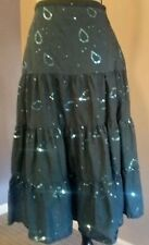 Miss Chievous A line Sequin Skirt 100% cotton Size 5