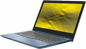 "Lenovo IdeaPad Slim 1 11.6"" HD AMD A4-9120e, 4GB, 64GB SSD Win10 BLUE Laptop REF"